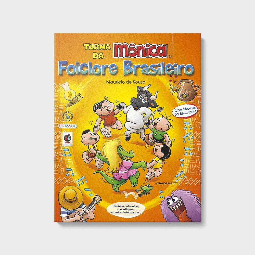 capa do livro turma da mônica folclore brasileiro de mauricio de sousa