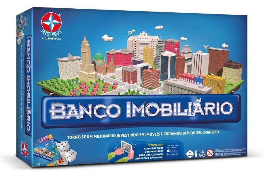 Jogos de Tabuleiro: Banco Imobiliário
