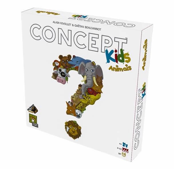 Jogos de Tabuleiro: Concept Kids Animais