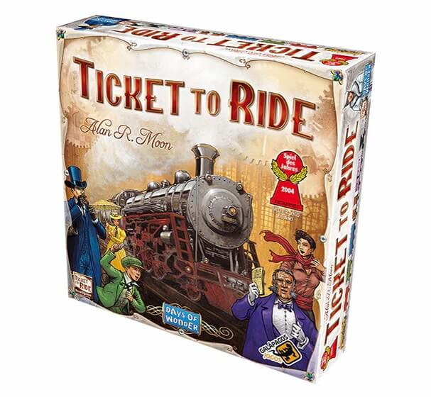 Jogos de Tabuleiro: Ticket to Ride