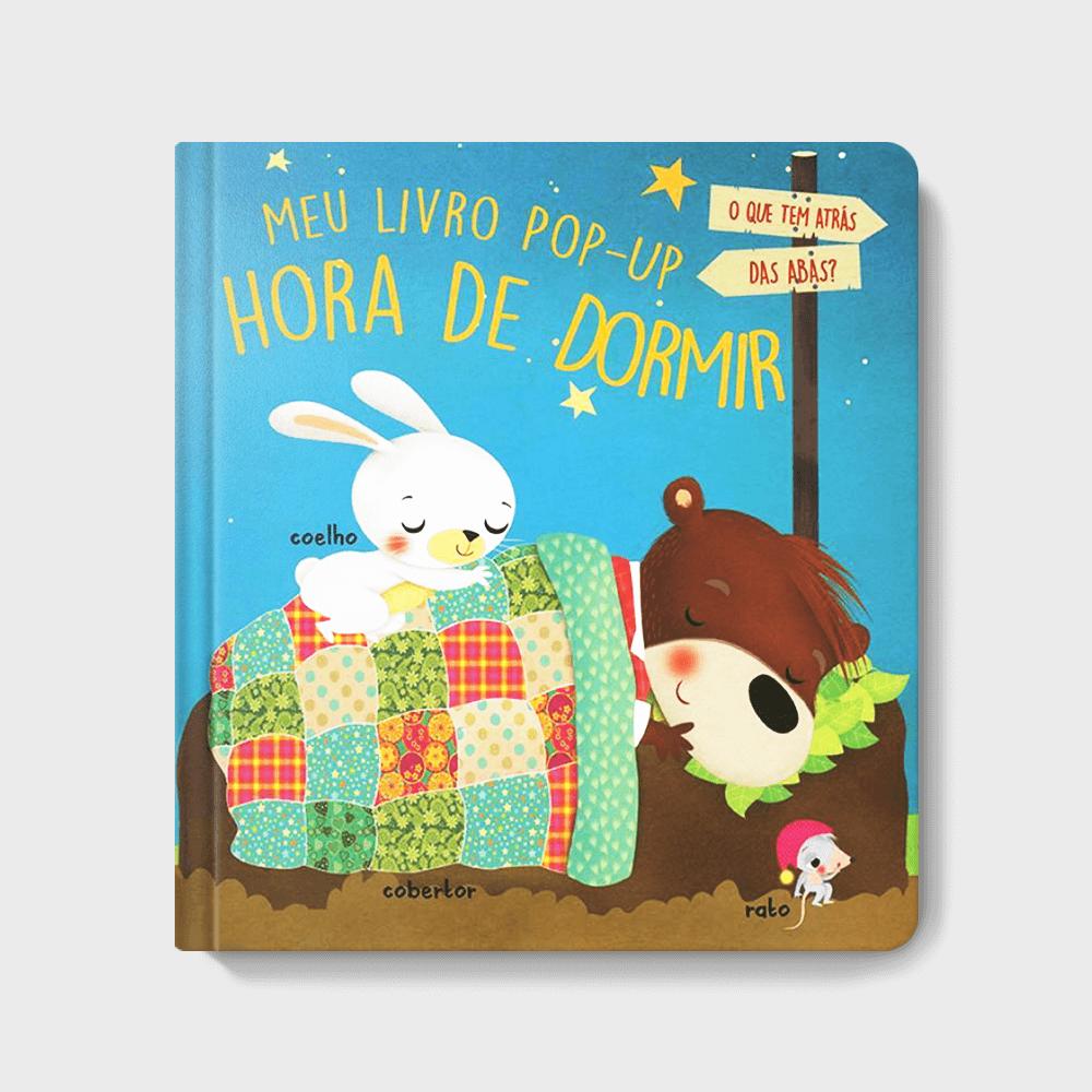Meu bebê não dorme: Capa do livro Hora de Dormir - Meu Primeiro Pop-Up