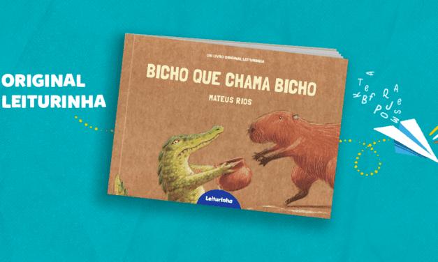 Bicho que Chama Bicho: um Original Leiturinha sobre defesa ambiental