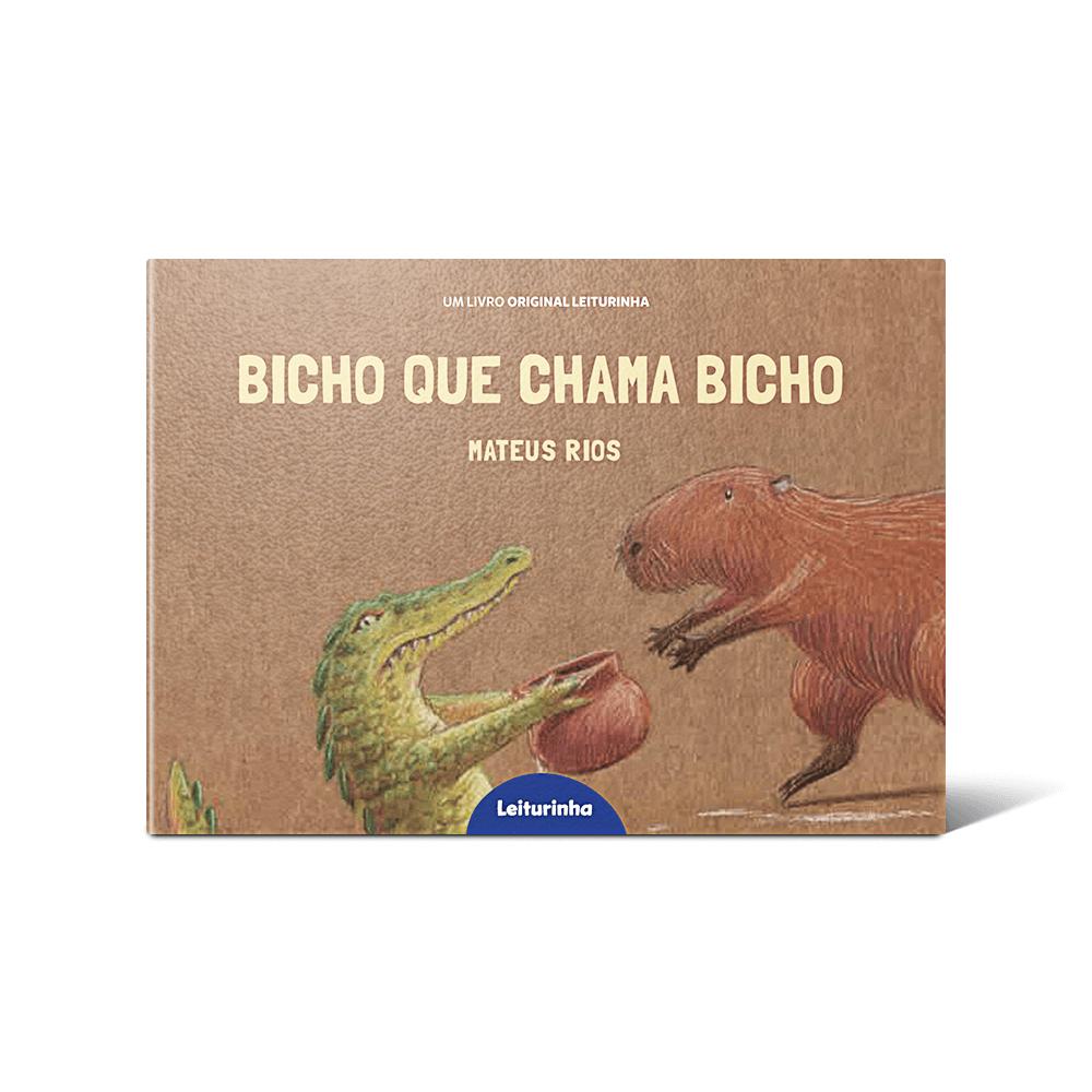 "Capa do livro ""Bicho que Chama Bicho"", de Mateus Rios"