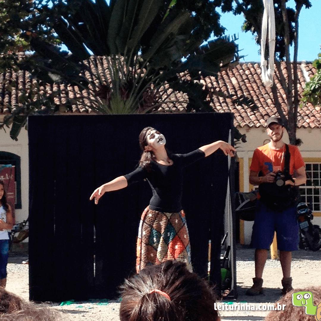 Flipinha 2016 recebe espetáculo circense da Leiturinha