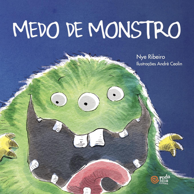 livro medo de monstro